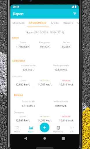 Drivvo - Gestione veicoli, App per automobilisti 4