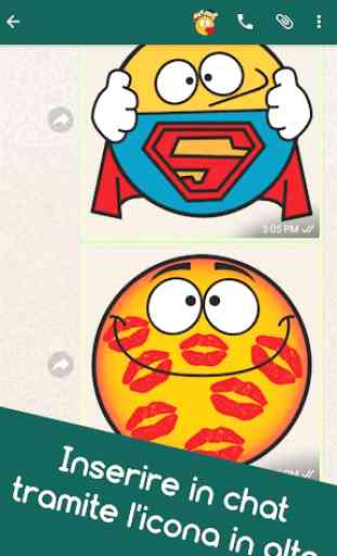 Emojidom faccine WhatsApp e smile Facebook gratis 4