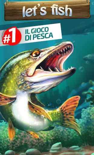 Let's Fish: Giochi di Pesca.  Simulatore di pesca. 1