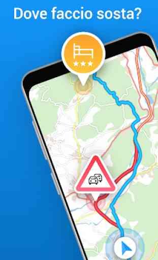 ViaMichelin : GPS, Traffico, Autovelox, Itinerario 1