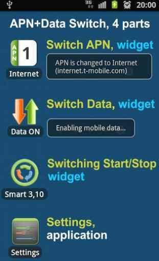 APN & Data Switch Trial 1