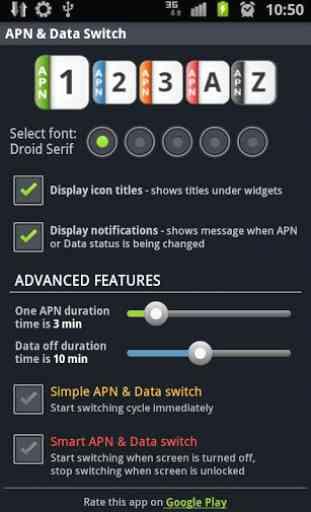 APN & Data Switch Trial 2