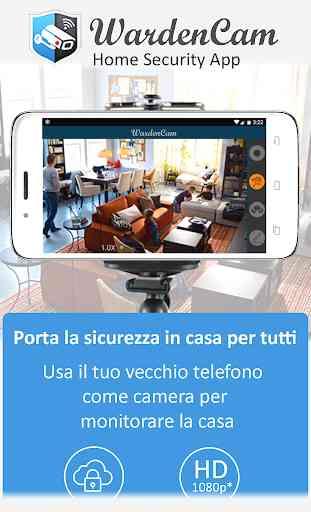 IP-Cam Sicurezza domestica 1