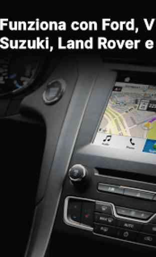 Sygic Car Connected Navigazione 1