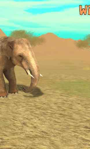 Wild Elephant Sim 3D 1