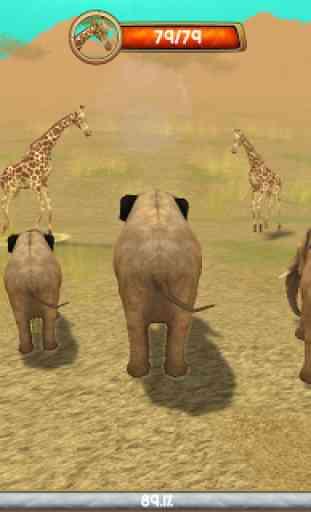 Wild Elephant Sim 3D 2