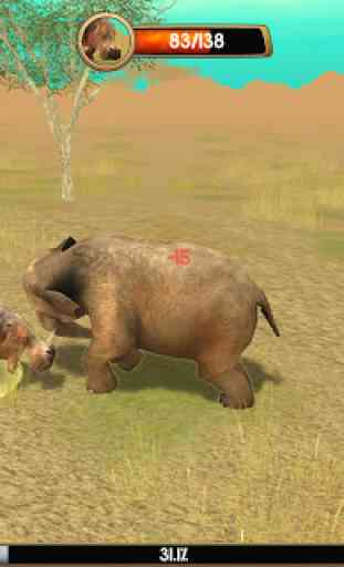 Wild Elephant Sim 3D 3