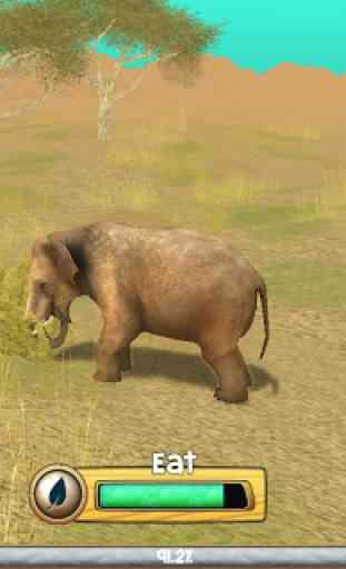 Wild Elephant Sim 3D 4