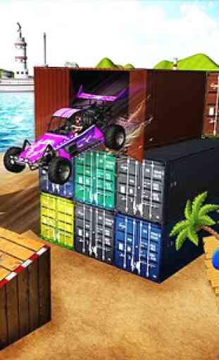 Buggy Stunts 3D: Beach Mania 3