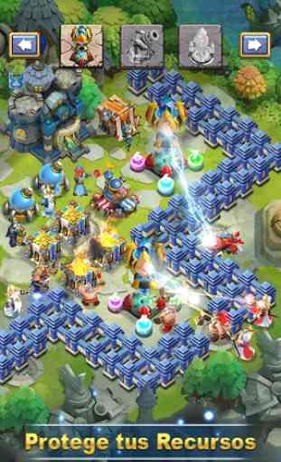 Castle Clash: Escuadrón Audaz 4