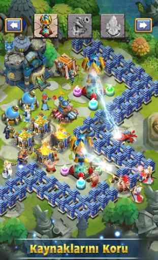 Castle Clash Korkusuz Takımlar 3