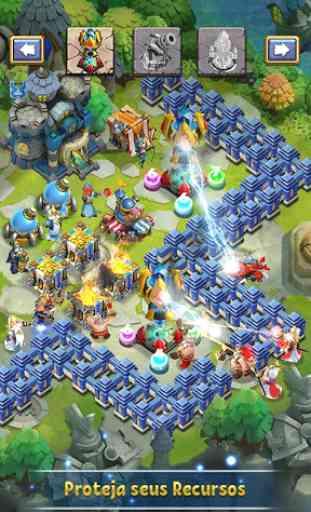 Castle Clash: Pelotão Valente 3