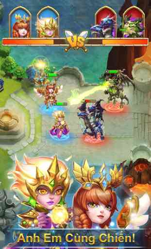 Castle Clash: Quyết Chiến - Gamota 4