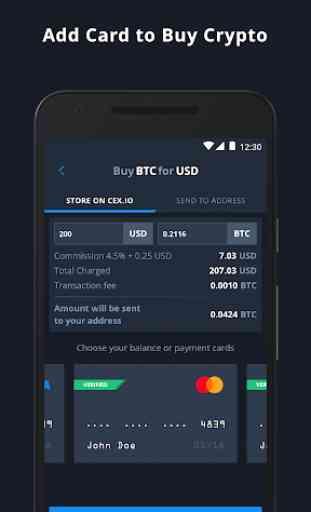 CEX.IO Bitcoin Exchange 2