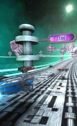 Space Race 3D 2