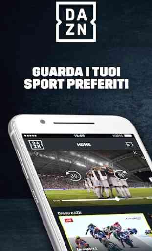 DAZN: Diretta Calcio e Sport 1