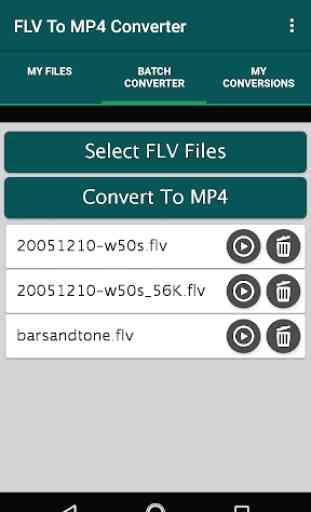 FLV To MP4 Converter 2