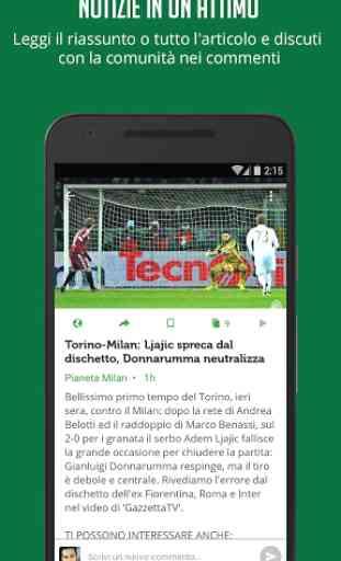 Notizie e Risultati di Calcio 4