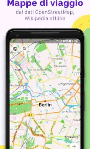 OsmAnd — Mappe di viaggio offline e navigazione 1