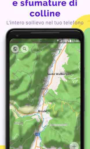OsmAnd — Mappe di viaggio offline e navigazione 3