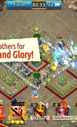 World Clash - Hero Clan Battle 4