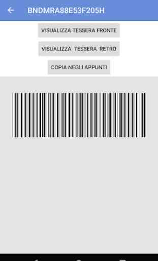 Tessera Sanitaria Italiana 2
