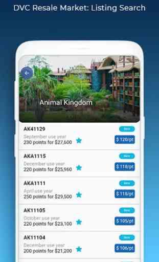 DVC Resale Market Search App 1