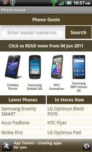 Phone Genie - GSMArena Browser 1
