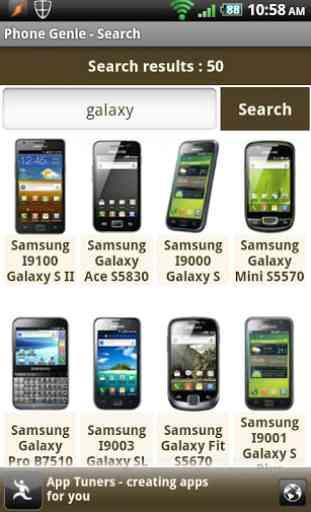 Phone Genie - GSMArena Browser 2