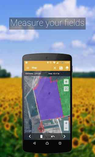 GPS Fields Area Measure PRO 2