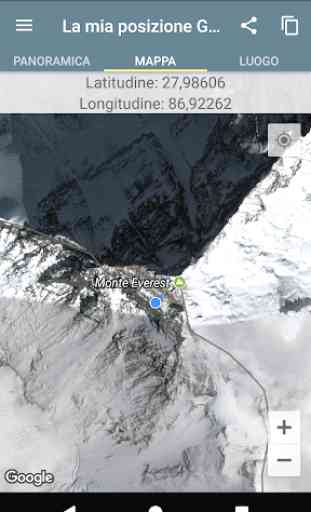 La mia posizione GPS 3