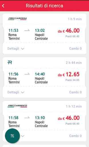Trenitalia-biglietti, orari, offerte 2