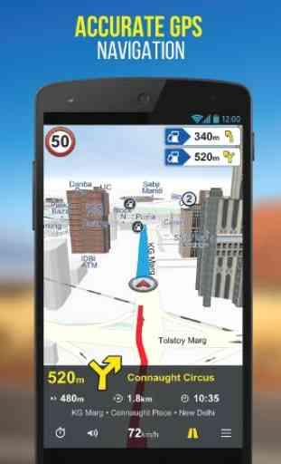 NaviMaps: 3D GPS Navigation 1