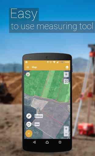 GPS Misura l'area del campo 2