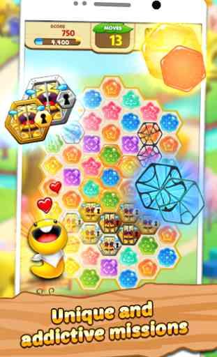 Honeyday Blitz 2  puzzle 2