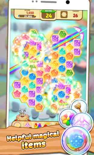 Honeyday Blitz 2  puzzle 4