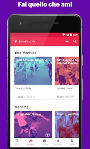 Meetup: eventi nella tua zona 2