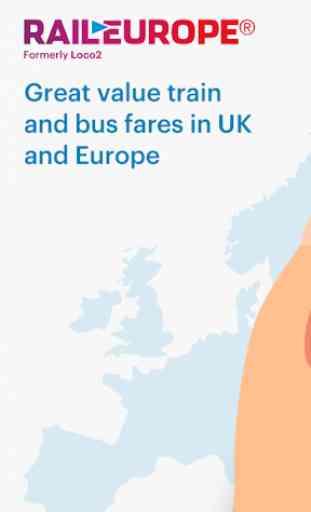 Rail Europe Acquisto Biglietti Treno & Orari Treni 1