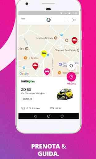 Free2Move compara e prenota auto scooter bici taxi 4