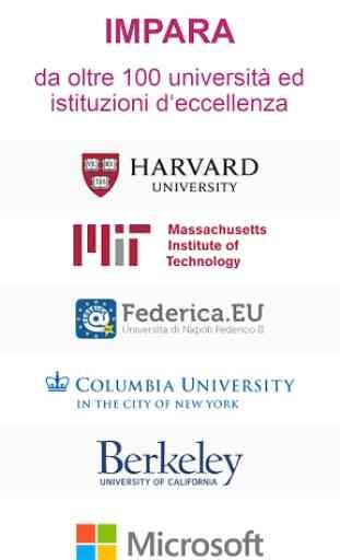 edX: impara con corsi online - Certificazioni MOOC 1