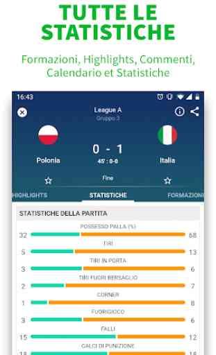 SKORES - Calcio in Diretta & Risultati Calcio 2019 4