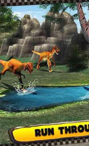 Dinosaur Race 3D 2