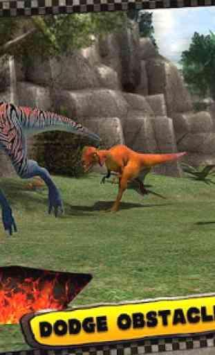 Dinosaur Race 3D 3