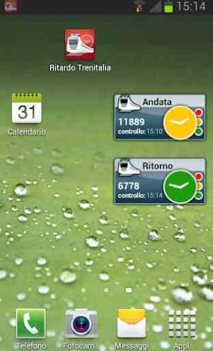 Widget Ritardo Trenitalia 4