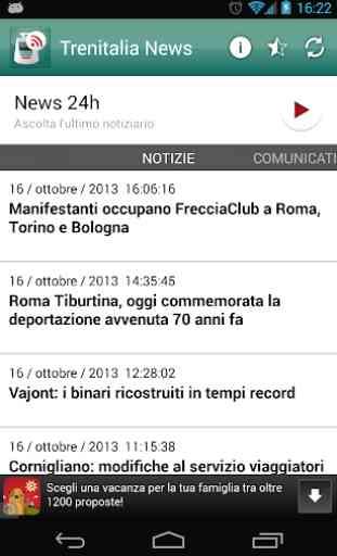 Trenitalia news 1