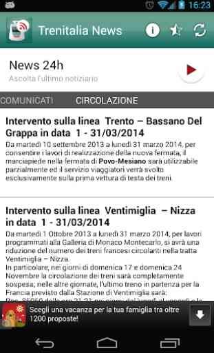 Trenitalia news 3