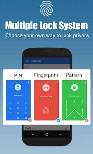 App lock - Real Fingerprint, Pattern & Password 2