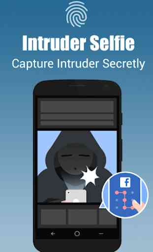 App lock - Real Fingerprint, Pattern & Password 3