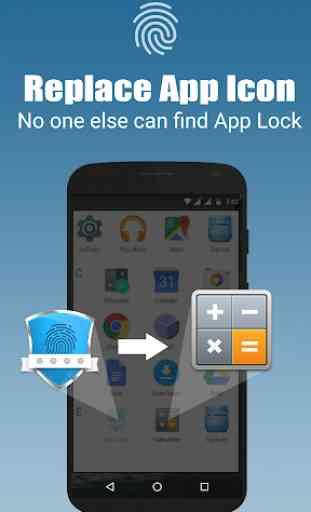 App lock - Real Fingerprint, Pattern & Password 4