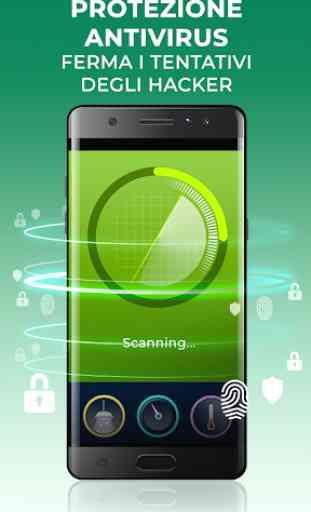 dfndr security: antivirus, anti-hacking e pulizia 1